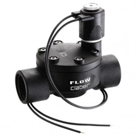 "Solenoid valve claber - 90814 - 24v-1 ""threaded"