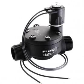 "Solenoid valve claber - 90815 - 24v-1 ""m flush"