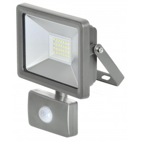 Flat led floodlight - 30w - c / sensor