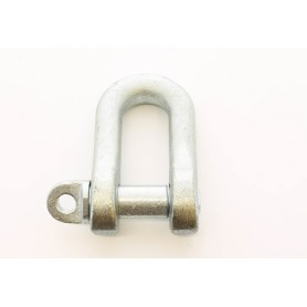 Galvanized shackle - n.20 3 / 4 - forged uni 1947