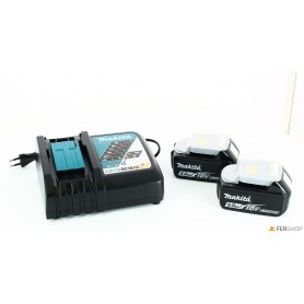 Battery charger makita - 197624-2 - + 2 batteries