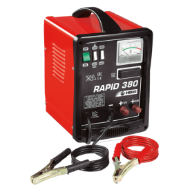 Battery charger - rapid 380 - 12/24v 230v