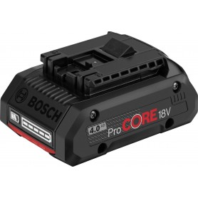 Battery 18v-4,0 ah BOSCH - 1600a016gb - x click & go