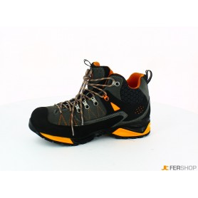 Bootie anthracite/orange - tg.43 - mountain tech w3 wp s3