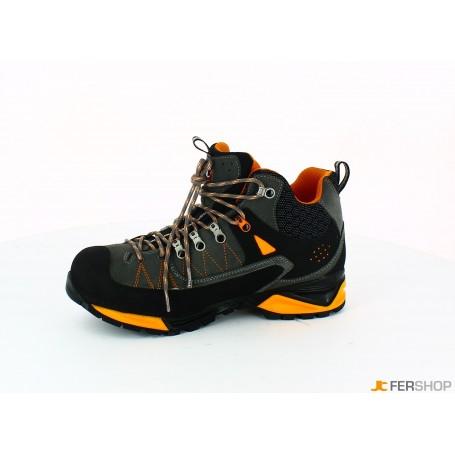 Bootie anthracite/orange - tg.43 - mountain tech w3 wp s3