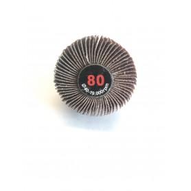 Lamellar abrasive brush - 40x20x6 gr.80 - rlg