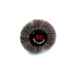 Abrasive brush battenboard - 50x20x6 gr.60 - rlg