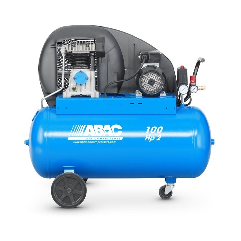 compressor abac hp 2 100 liters b 2800 100 cm2 mec80 jc rh fershop eu