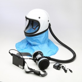 Elettrorespiratore kasco - helmet - with filter a2p3