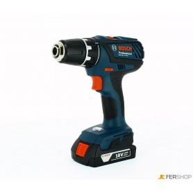 Drills screwdrivers - bosch gsr 18-2li - plus - 3 batteries ah 1,5