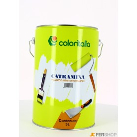 Black paint catramina - lt. 5 -