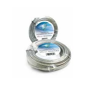 Steel rope 133 wires - dia. 4 x 50m. - roll