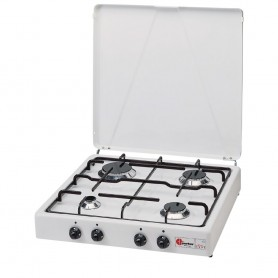Stove parker - 4 burner-white - mod.542 gp
