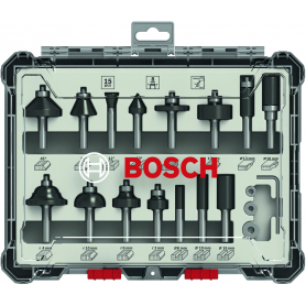 Cutters set of 15 piece bosch - mm.8 - mixed