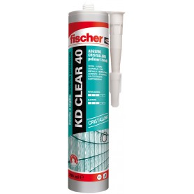 Sealant adhesive fischer - kd, clear, 40 - transparent