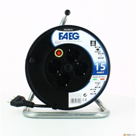 Cable reel civil faeg - mt.15-3x1.5 - 16a
