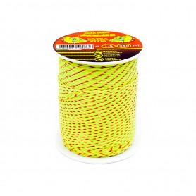Wire construction braid, mass - d.3.5-mt.50 - fluo orange
