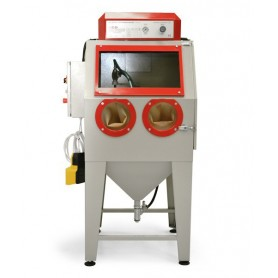 Sand blasting machine-pallinatrice - cab -