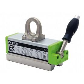 Lift the magnetic vega fxv - kg. 200 fx-v - hot material-germany