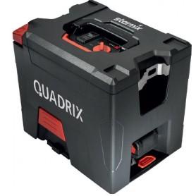 The vacuum cleaner starmix quadrix - battery-18v - 2 batt.18v 5,2 ah with accessories