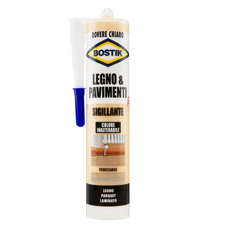 Sealant wood bostik - light oak - ml.300 filler