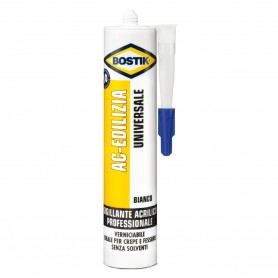 Acrylic Silicone construction bostik - ml.300 cartridge - white