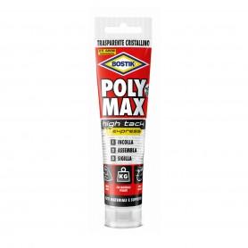 Bostik poly max high tack - gr.115 tube - transparent