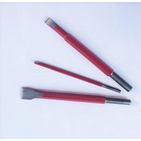 Chisel for hammer cuturi - mm. 4 - attack 7,5