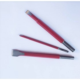 Chisel for hammer cuturi - mm.10 - attack of 12.5
