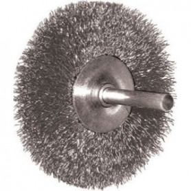 Brush stainless - 1802g-70x10 - c/stem