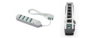 Power strips with cable