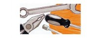 Hand Tools: Scissors, spotlights, screwdrivers, cutters, riveting