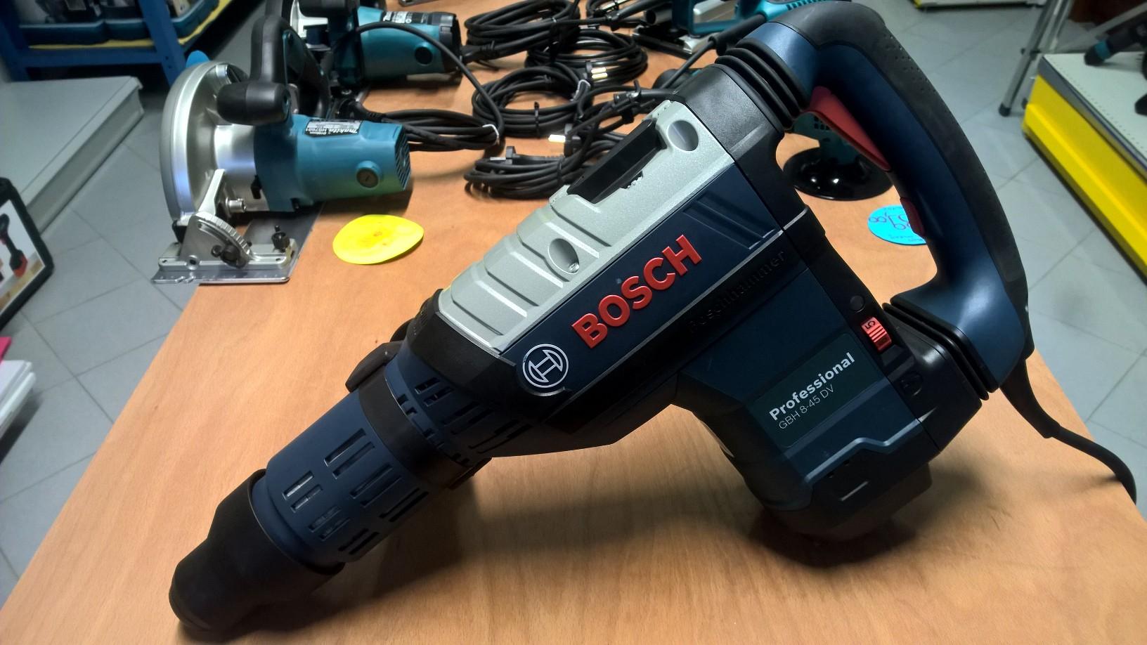 Hammer drill 8kg - bosch gbh 8-45dv - sds-max