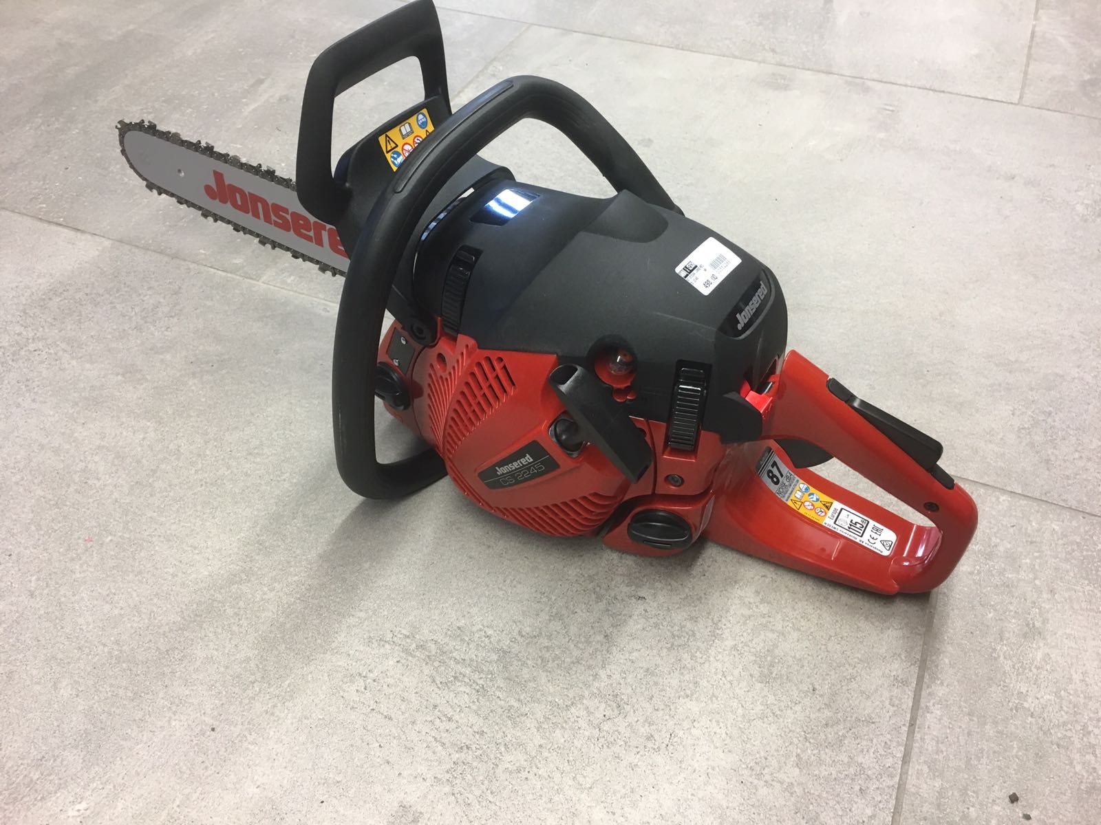 chainsaw jonsered cs 2245 ii