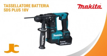 Tassellatore battery MAKITA, lightweight, compact and easy to handle